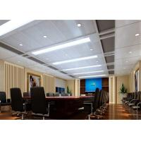 Buy cheap Fireproof Aluminum Suspended Ceiling Tiles Acoustical For Office / Conference Room from wholesalers