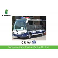 Buy cheap 11 Sofa Seats 5kw Electric Utility Vehicle Tourist Bus With Alarm Lamp from wholesalers