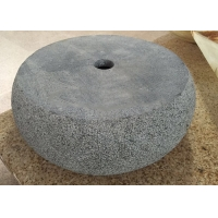 Buy cheap CAD Drawings 420*420*135mm Round Marble Stone Sink Basin from wholesalers