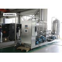 Buy cheap Continuous Syrup Control Not Cold Bottle Filling Machine  For Sparkling Beverage from wholesalers