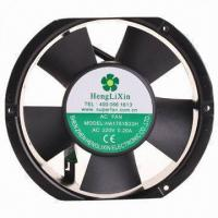 Buy cheap Axial AC Cooling Fan, Used for Copier Machine and Other Office Equipment, Measures 170 x 170 x 25mm from wholesalers