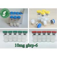 Buy cheap Growth Hormone Peptide Powder 10mg/Vial Ghrp-6 For Fat Loss CAS 87616-84-0 from wholesalers