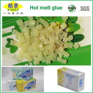 Strong Bonding Hot Melt Glue Pellets For Paper Box / Case Packaging