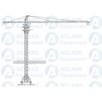Buy cheap 8 Tons 5513 55 m Boom Self Raising Mobile Tower Crane With 20 Meters Rail from wholesalers