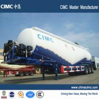 Buy cheap cimc 80 tons cement bulker semi trailer for sale from wholesalers