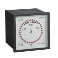 Buy cheap 96mm Synchroscope Meter High Vibration Resistance Abs Plastic Cover from wholesalers