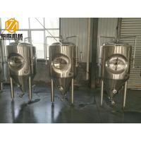 China 2HL Stainless Steel Brewing Systems Top / Side Manhole Fermentation Tank on sale
