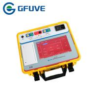 Buy cheap 7Inch LCD CT PT Current Transformer Analyzer 0.02% Accuracy Support USB Flash Disk from wholesalers