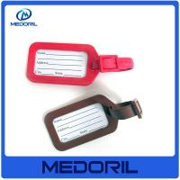 Buy cheap Promotion high quality pvc luggage tag with cheap price from wholesalers