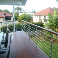 Buy cheap Satin finished stainless steel front porch railings for sale from wholesalers