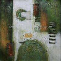 Wholesale Modern Decoration Abstract Pattern Hand Painted Oil Painting On Canvas For Interior from china suppliers