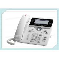 Buy cheap CP-7841-W-K9 White Cisco IP Phone With Multiple VoIP Protocol Support from wholesalers