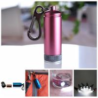 Wholesale waterproof aluminum keychain torch for promotion gifts from china suppliers