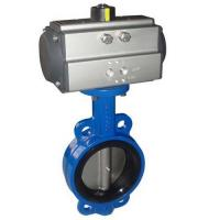 Buy cheap pneumatic actuator butterfly valve from wholesalers