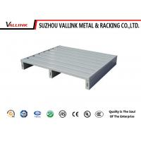 Buy cheap Bespoke 2 Way Entry Welded Galvanizing Steel Pallets For Store Room from wholesalers
