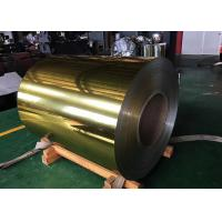 Buy cheap Pe Pvdf Color Coated Polished Aluminum Sheet Silver Golden For Decoration from wholesalers