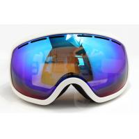 Buy cheap UV Protection Over Glasses Mirrored Ski Goggles with Soft TPU Frame from wholesalers