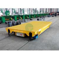 Buy cheap Electric Arc Furnace Material Transfer Battery Industrial Rail Trolley Cart 30 Tons from wholesalers