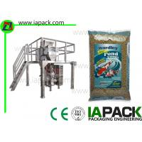 Buy cheap Fish Food Granules Vertical Form Fill Seal Packaging Machines Linear Scales from wholesalers