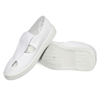 Buy cheap 4 Holes Mesh Upper Shoes Washable ESD Products from wholesalers