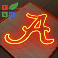 Wholesale Longlife Neon Letter Sign LED Shop Display Red 3D Custom Signage With Clear Back from china suppliers