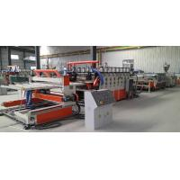 Buy cheap PVC Construction Template Extrusion Line --PVC Extrusion Line --Extrusion Line from wholesalers