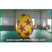 Buy cheap Pvc Outside Inflatable Holiday Decorations Painted Decoration Egg from wholesalers