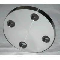 Buy cheap Anti Rust Oil Surface  Stainless Steel Forged Flanges Blind Flange With Tapped Hole from wholesalers