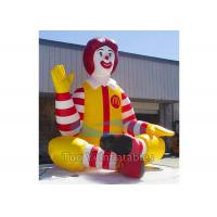 Wholesale Promotional Inflatable Cartoon Characters , Inflatable McDonald Character from china suppliers
