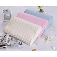 Buy cheap Dyeing super soft short-pile velour fabric cover wedge contour memory foam pillow, side sleeping pillow for back pain from wholesalers