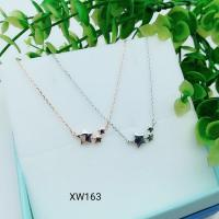 Buy cheap 925 Sterling Silver Charm Choker collarbone chain necklace  WY163 from wholesalers