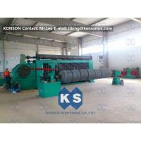 High Speed Automated Gabion Machine Hexagonal Wire Mesh Production Line 4300mm