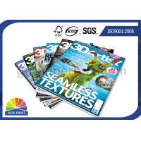 Buy cheap ISO Custom Magazine Printing / Brochure Printing Services With Fast Delivery from wholesalers