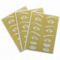 Buy cheap Permanent Makeup Accessories, Sponge Printed with Eyebrow and Lip Outline from wholesalers