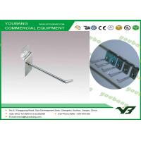 Buy cheap Chrome plating Pegboard Hook / Wall Shelf Hooks for retail store merchandise display from wholesalers