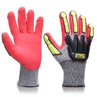 Buy cheap Impact Protection Heavy Duty Mechanic Gloves Customized Logo For Mining from wholesalers