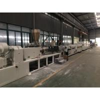 Buy cheap SJSZ Series Conic Double Screw PVC Agriculture Pipe Extrusion Machine Line from wholesalers