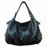 China Portable Womens Handmade Leather Handbags Tote For Office Lady Working on sale