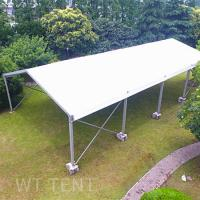 Buy cheap 15x20 Clear Span Temporary Tent Buildings Waterproof For Uneven Ground from wholesalers