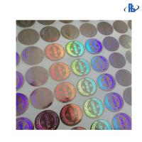 Buy cheap 3D Anti Fake Holographic Security Labels , Custom Security Hologram Stickers from wholesalers