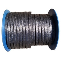 Buy cheap Braided Seal 150 Bar Graphite Rope Packing Heat Insulation from wholesalers