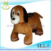 Wholesale Hansel stuffed animal ride electronic animal rides mall from china suppliers
