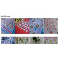 Buy cheap eco-friendly EVA table mat of transparent or half transparent type from wholesalers