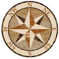 Wholesale Natural Decorative Marble Water Jet Stone Medallion Floor Tiles from china suppliers