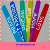 Buy cheap hot selling fashion rubber silicone slap bracelet from wholesalers
