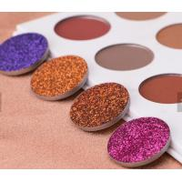 Buy cheap Waterproof Glitter Eyeshadow Palette Mineral Ingredient Suit For All Skin from wholesalers
