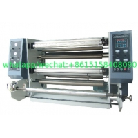 Buy cheap FQ1300L series Vertical Automatic Slitting Rewinding Machine BOPP PET CPP CPE PVC craft paper adhesive label sticker from wholesalers
