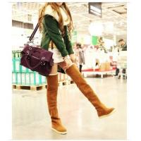 Newest Fashion Women's Knee Boots Over Knee Inner Wedge Boots Ladies Sexy Winter Snow boot Manufactures