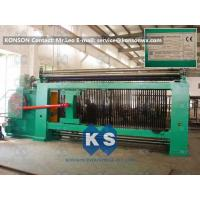 Double Rack Drive Hexagonal Mesh Machine 4300mm With High Frequency Motor Manufactures