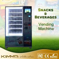 Cold Drink / Potato Chips Combo Snack And Soda Vending Machine With 10 Inch LCD Screen Manufactures